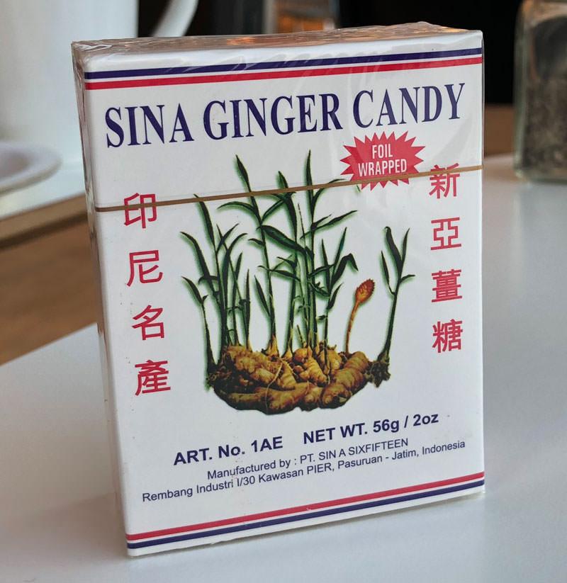 sina ginger candy sverige