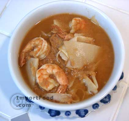 Thai Fish Sour Soup, 'Gaeng Som Pla'