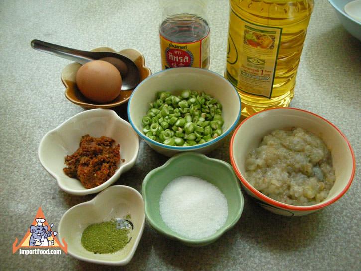 Shrimp Cakes, 'Tod Mun Goong' :: ImportFood