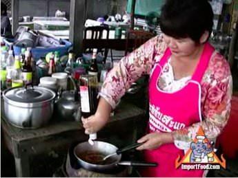 Street Vendor: Namtok (Waterfall Pork)