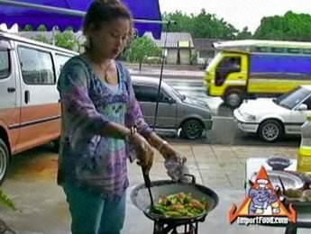 Stir Fry Seafood & Vegetables,