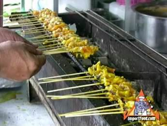 Street Vendor Video: Pork Satay