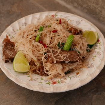 Stir-Fried with Beef and Lime
