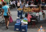Young Lady Sells Fresh Longan