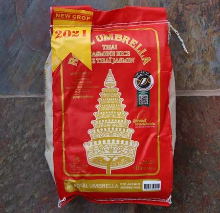Thai Jasmine Rice (2021 NEW Crop)