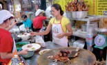 Bangkok Vendor Offers BBQ Duck, Pork, Noodles and More