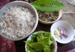 Boiled Ant Eggs in Coconut Milk, Tom Kati Kai Mod Daeng Thai