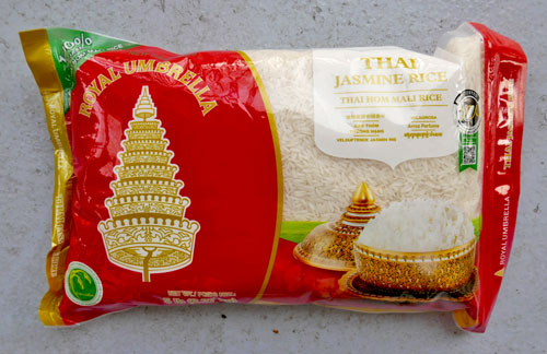 Thai jasmine rice, 5 lbs 2019 Crop