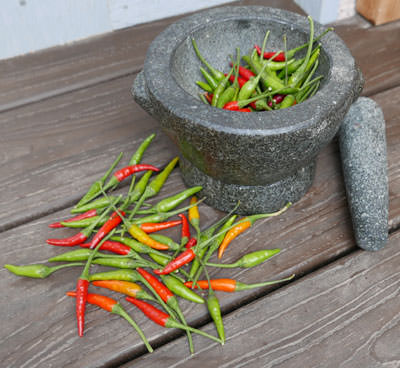 Fresh Thai Chile Peppers