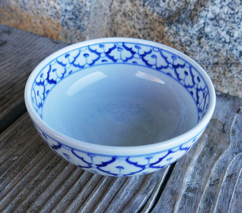 Handpainted Thai Ceramic, 20 oz bowl