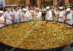Giant Vegetarian Pad Mee, Prepared in Chon Buri Thailand