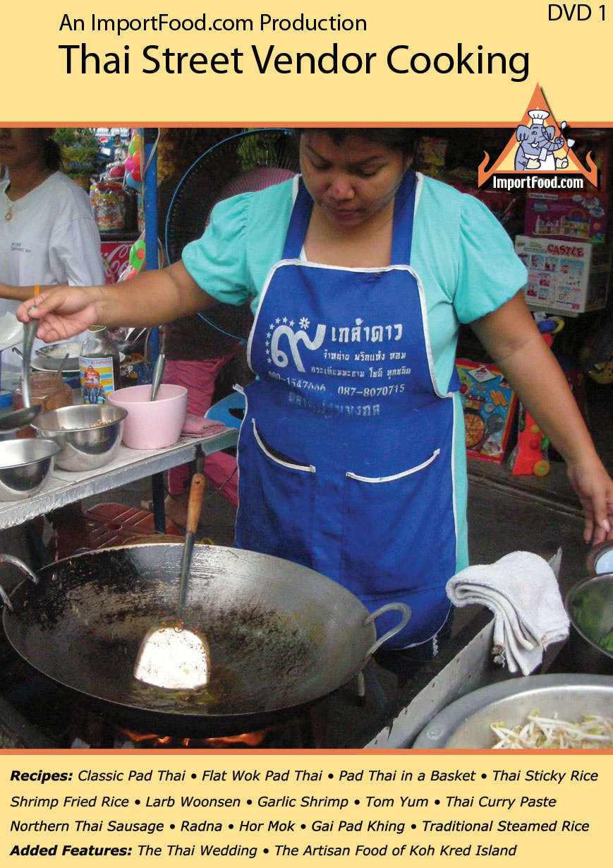 DVD: Learn How To Cook Like a Thai Street Vendor
