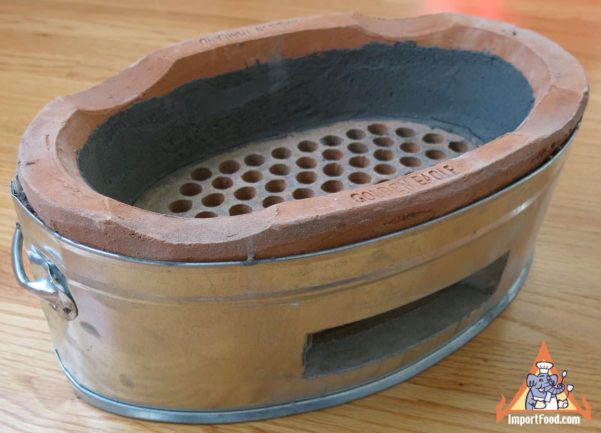 Tao Charcoal Burner, Oval