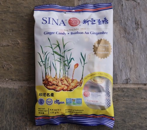 Sina Ginger Candy, All Natural, Package 24 pieces
