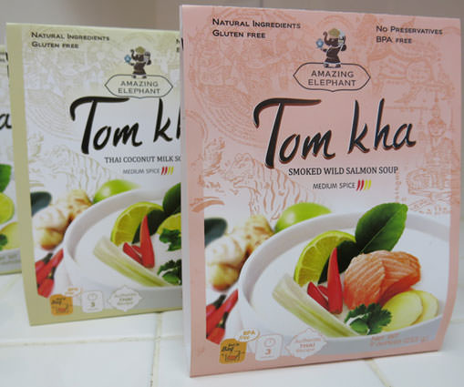 Amazing Elephant Tom Kha Soup