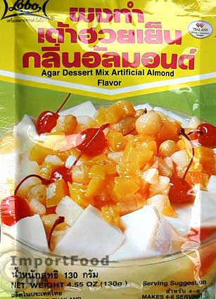 Thai Agar Dessert Mix, Almond Flavor