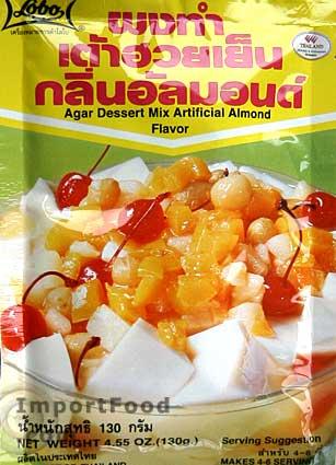 Thai Agar Dessert Mix, Almond Flavor