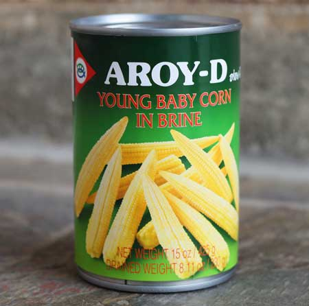Thai Baby Corn, 15 oz can