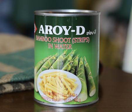 Thai Bamboo Shoot, Strips, 20 oz can