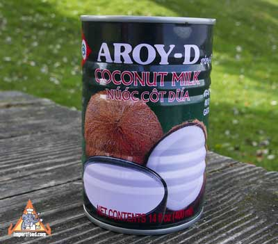 Thai coconut milk, Aroy-D brand 14 oz can