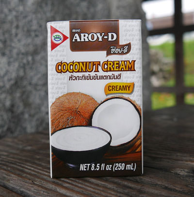 Thai Coconut Cream, All Natural, Aroy-D