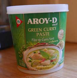 Thai Green Curry Paste - Aroy-d - Mae Ploy