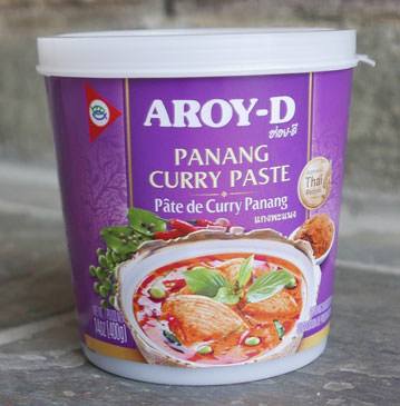 Thai Panang Curry Paste - Aroy-D Brand - Mae Ploy