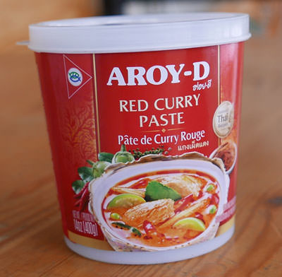 Thai Red Curry Paste - Aroy-D - Mae Ploy