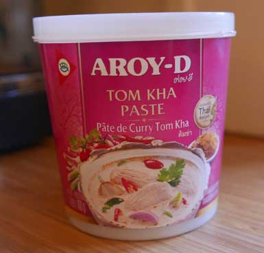 Tom Kha Paste, Aroy-D, 14 oz