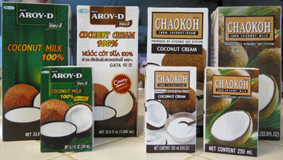 Thai Coconut Milk and Cream, All Natural