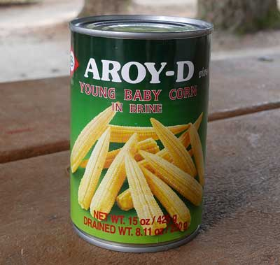 Thai Baby Corn, 15 oz can