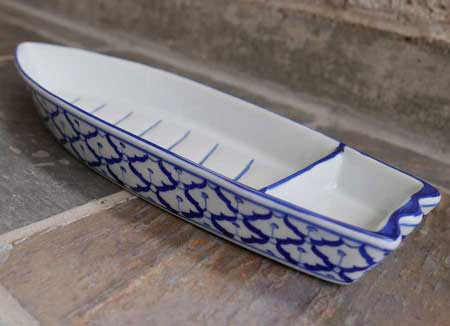 Thai Ceramic, big boat, 14