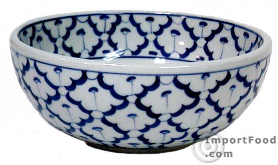 Handpainted Thai Ceramic, 20 oz bowl