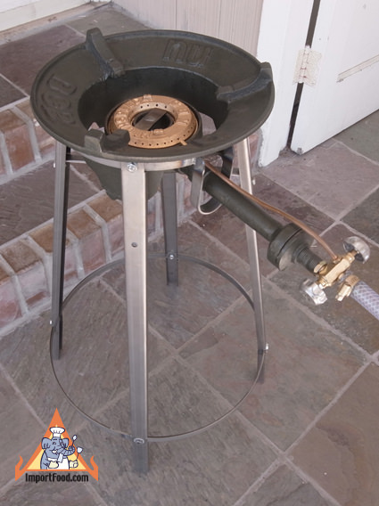 Extremely Powerful Thai Gas Burner With Stand