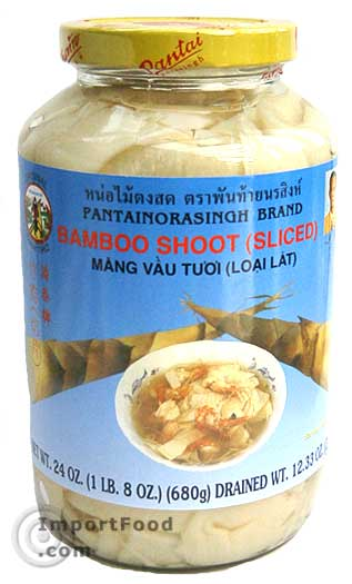 pickled bamboo thai bamboo shoots sliced 24 oz jar importfood