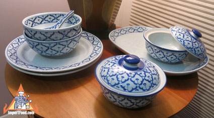 Handpainted Thai Ceramic Collector Set