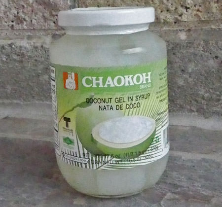 Nata de Coco, 16 oz jar, Thai