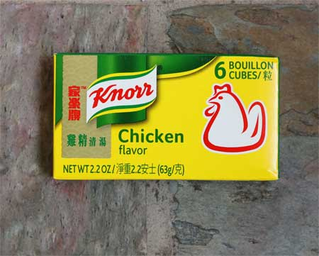 Chicken Bouillon Cubes, Knorr