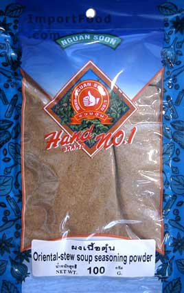 Chinese/Thai Stew Spice Mix, 3.5 oz pack
