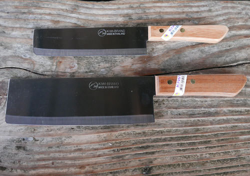 Set of Two Chopping Knives, Kiwi Thailand