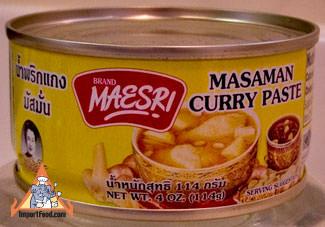 Massaman Curry Paste, Maesri