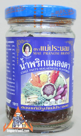 Namprik Maengda, Thai Chili Paste