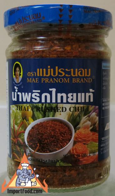 Thai Crushed Chili, Namprik Thai Tae