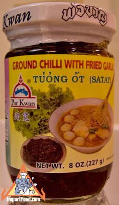 Thai Ground Chili with Fried Garlic