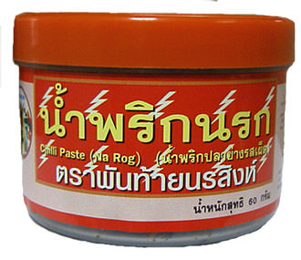 Namprik Narok, Thai Chili Paste