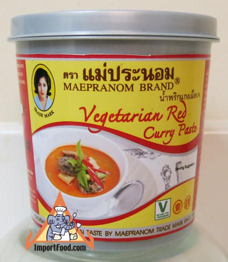 Thai Vegetarian Red Curry Paste