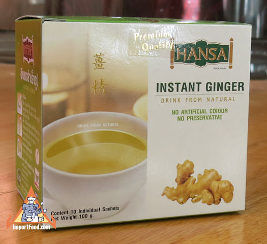 Thai Instant Ginger Drink, Hansa