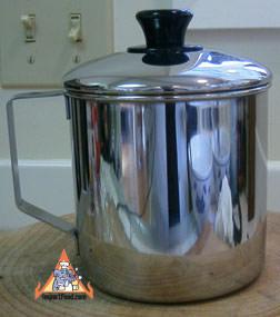 Stainless Steel Mug with Lid, Zebra