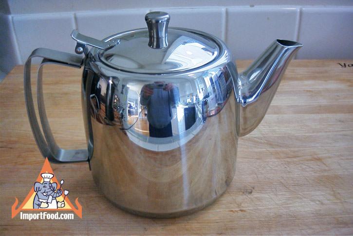 Stainless Steel Teapot, 2.0 Liter, Zebra Thailand