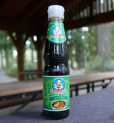 Soy Sauce, Dark Sweet, Healthy Boy Brand